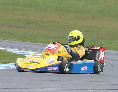 Jeff Reed (Stockman Superkarts Stockman-Honda)